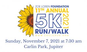 11th Annual 5K Run/Walk 2021